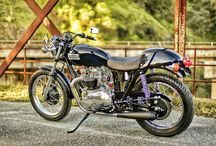 Transformaciones de motos / Transformaciones de motos clásicas, café racer y deportivas,   http://www.mjhperformancebikes.com