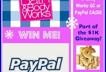 Giveaways / by Kay M. The More The Merrier