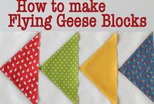 Flying Geese Block