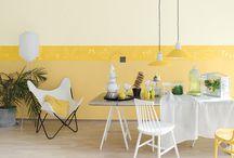 Tikkurila Color Now - FIZZ (żółcienie) / Słoneczne kolory wprowadzają do otoczenia radość i pozytywną energię.  Barwa żółta ma w sobie siłę, dzięki której można rozjaśnić wnętrza nawet w środku najbardziej pochmurnego dnia.  Idź w stronę słońca!