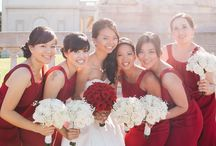 Hot red wedding