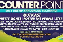 CounterPoint Music Festival 2014 / Outkast, Pretty Lights, STS9, Foster the People, Griz and many many more! / by Malone Garth