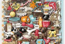 Fur Babies - Puppy Dogs  / Kristin Aagard Designs