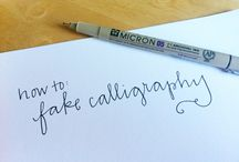 Caligraphy ♥