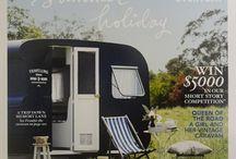 vintage event caravan