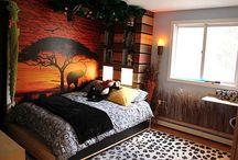 Safari themed rooms