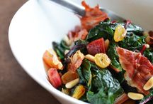 Recipes: Side Dishes- Kale, Chard and Other Greens / by Alli Johnson