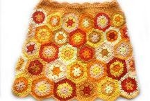 Crochet - skirt, pants