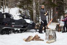 Утилитарный снегоход Ямаха Викинг