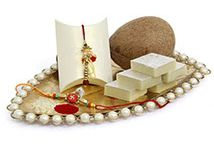 Rakhi with Sweets / Raksha Bandhan is an auspicious ocassion to celebrate the sweet bond of love between brother & sister.