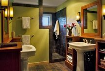 Bathroom Ideas / by Abbie Cobb