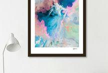 Art prints abstract by Stefania Piredda