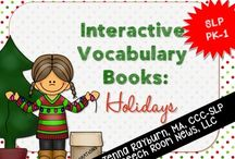 Winter / Winter speech and language activities