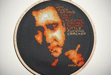 Mr X Stitch Portfolio / Embroidered Art from the Kingpin of Contemporary Embroidery