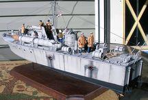 Modell båter / modell båter og bygging av dem