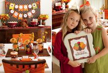 Thanksgiving Inspiration / Decor, activities, ideas for promoting thankfulness in our home