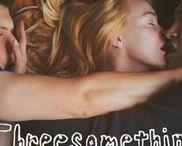 Threesomething film / Directed / edited - James Morosini Co-written - James Morosini & Sam Sonenshine Produced by James Morosini-Sam Sonenshine-Emily Rowan ThreesomethingFilm.com Twitter @3SomethingFilm instagram @threesomethingfilm facebook.com/3somethingfilm