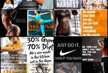 fitnessss / by Lauren Guarracino