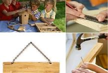 Griffin's Birthday Ideas / Tools, woodworking, and fun party ideas for a 5 year old's party.