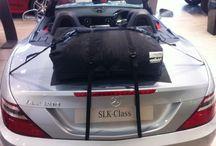 Mercedes SLK Gepäckträger-Koffer & Gepäckträger in einem / Die Alternative zu einem Gepäckträger für lhren Mercedes SLK.Hinzufügen von Wasserdicht 50 Liter Gepäckraum