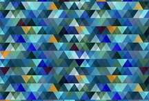 Pattern Inspiration / Pattern, print, wallpaper, fabric, art and shapes. So much design inspiration.
