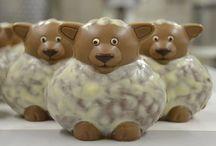 Schokoladen Figuren / Figuren aus eigener Herstellung