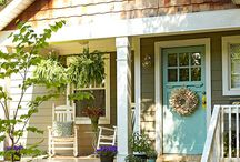 Porches to hang out on