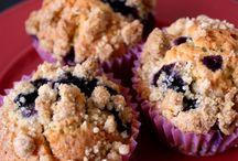 Recette / Muffin bleuets