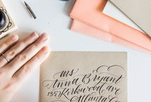 Calligraphy / Calligraphy, typographies, handletters, handlettering, beautiful writing