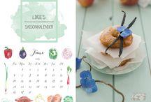 Lixie´s Saisonkalender / Lixie´s Saisonkalender - die Bloggeraktion rund um saisonale und regionale Rezepte, für nachhaltige Ernährung, sowie Frische und Qualität aus der Region...