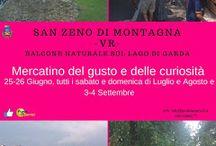 Mercatino del Gusto e delle Curiosità da giugno a settembre San Zeno di Montagna (VR)