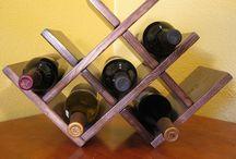 Scaffalature per bottiglie di vino