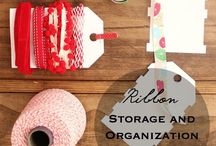 storage and organization Handmade