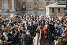 elegante boda Madrid / EDISEE La boda con Diana Feldhaus Wedding Planner  elegante boda en Madrid, decoración boda, ramo novia silvestre, vestido novia