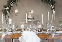 Silver Crystal Elegance / This #crystal #silver #elegance theme is #timeless. Thanks to #konfetti_love #nicolesmacaroons #littishphotography #candle_lite_sa #silverstarfunction for this beautiful shoot showcasing our exclusive #wood #tables #flowerarch #hangingcakestand Only from www.silverstarhiring.com