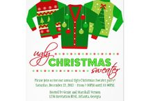 Invitations : Christmas Party / here is a collection of lovely Christmas party invitations to choose from -- some of these are from me and some are from other very talented graphic artists -- click on the image and then click on the larger image to get pricing and customizing information