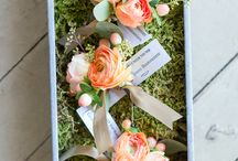 Peach Wedding Ideas / Our favorite peach wedding inspiration