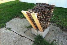 Stockage petit bois