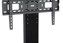 Lcd Tv Stand Plasma Black Universal Bracket Pedestal Stand 32/60 Inch Aluminium