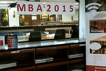 MBA Class of 2015 Photocall / During the week of your graduation the Library Team would like to invite you to come down for a photocall in the Library Hall. We will take photos of you in your favourite workplace as well as with your classmates and/or family.