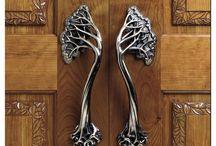 Door Bells & Door Knockers / Nothing makes an entrance like just the right door bell or knocker!
