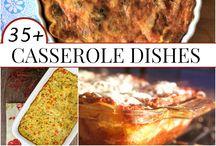 Food ~ casseroles / by Heather Faulkner