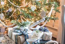 Christmas time -- trees
