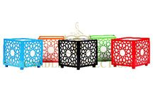Candle Containers / Great for outdoor and indoor decor.  Mix and match colors of cantainers and candles
