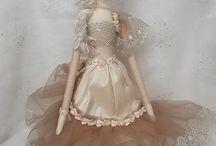 """Poupées de chiffon / Modèles de poupées en tissus """"Tilda"""" ou d'inspiration """"Tilda"""""""