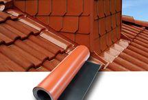 Kleurlood / Dubbelzijdig gekleurd bladlood dat harmonieert met dak- en gevelkleuren. #Kleurlood #Bladlood #Lood