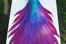 Mermaid Stuffs / by Shelly Little