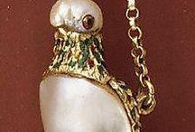 16-17century gold jewellry