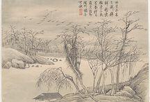 China, Japan - Desenho /Drawing