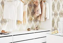 Closets & storage / mix of inspirations